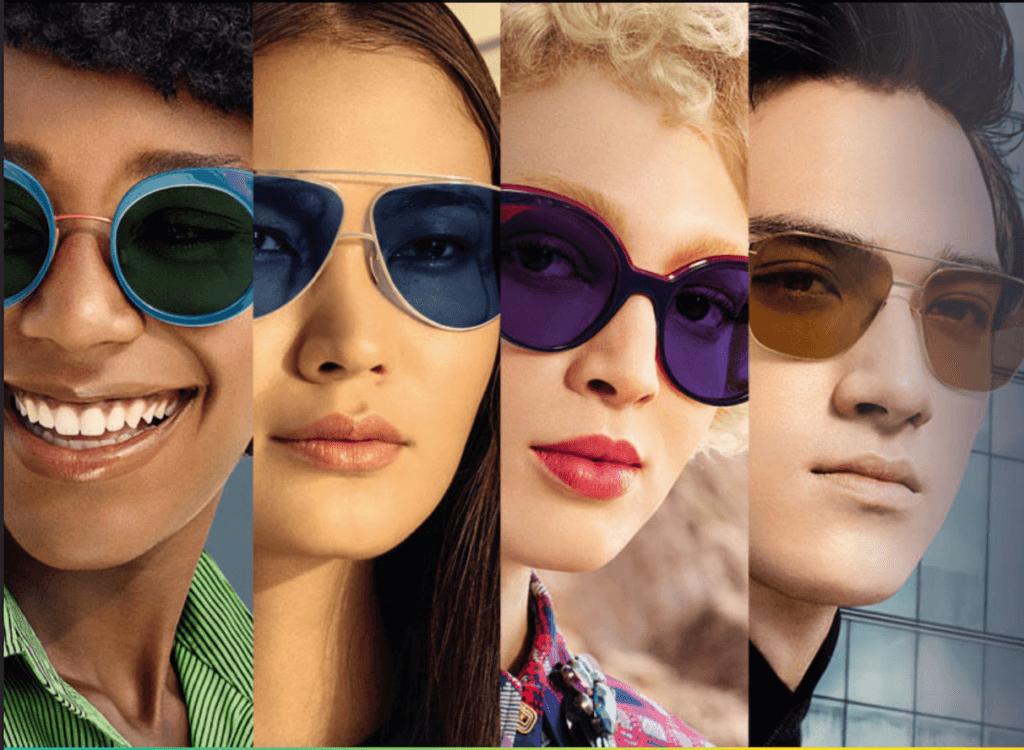 Transitions fényre sötétedő szemüveglencsék 4 új színben